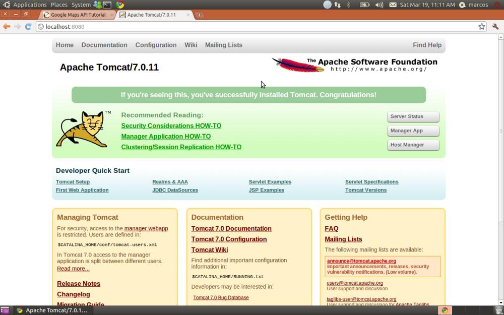 Ambiente Java EE no Ubuntu (Tomcat + Eclipse) (2/6)